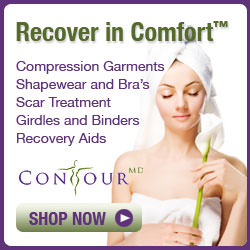 Compression garments, shapewear and bra's, scar treatment, girdles and binders, recovery aids