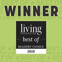 2020 Living Magazine Readers Choice Award
