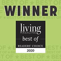 2020 Living Magazine Readers Choice Award